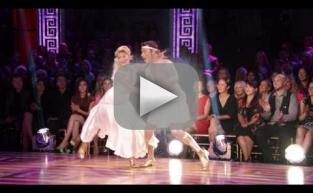 Chris Soules & Witney Carson - Dancing With the Stars Disney Week