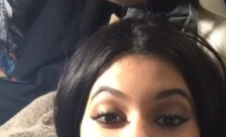 Kylie Jenner Waist-Trains, Pines For Tyga on Snapchat