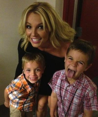 Britney Spears, Sean and Jayden