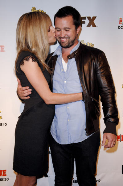 Kaitlin Olson and Rob McElhenney