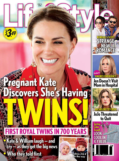 Kate Middleton Pregnant With Twins! Makes Royal History ...