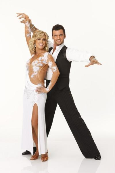 Kate Gosselin and Tony Dovolani