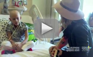 "Rachel Platten Plays ""Fight Song"" with Cancer Patient"