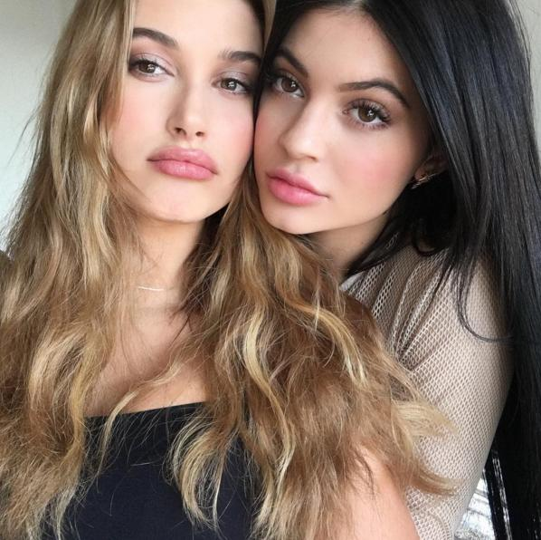 Kylie Jenner Shares Ugly Selfie With Hailey Baldwin The