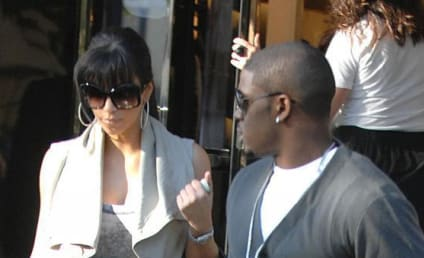 Kim Kardashian and Reggie Bush Shop, Don't Drop