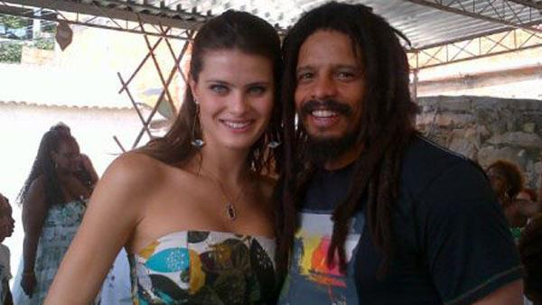 Rohan Marley, Isabeli Fontana
