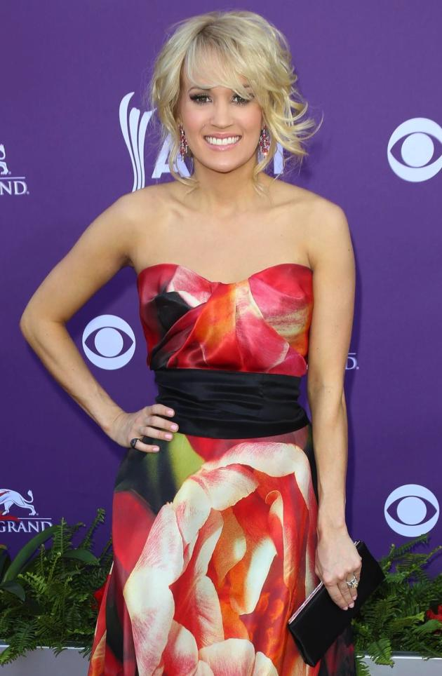 Carrie Underwood at ACM Awards 2013