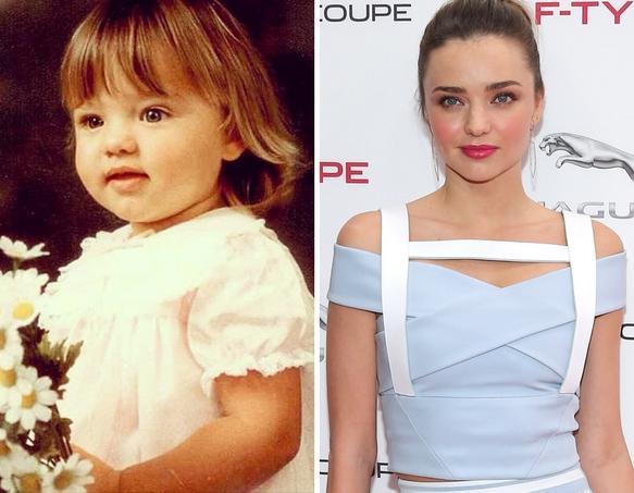 Miranda Kerr as a Kid