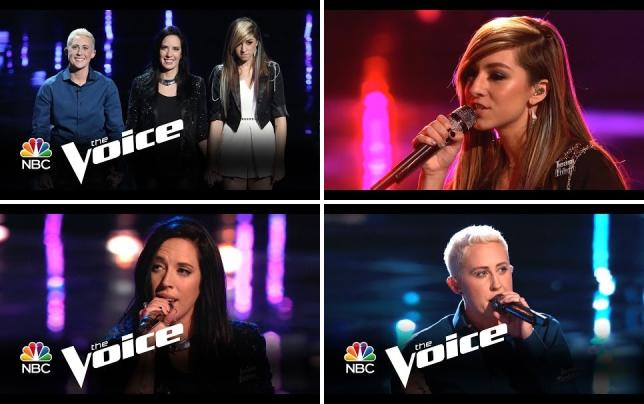 The voice semifinals performances and results