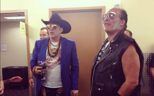 Nicolas Cage and Guns N Roses