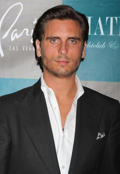 Scott Disick Close Up