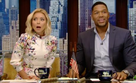Michael Strahan Exits Live; Just How Awkward Did It Get?