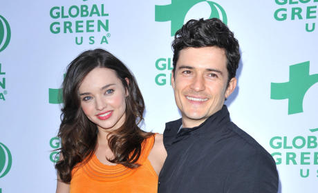 Orlando Bloom and Miranda Kerr: Engaged?
