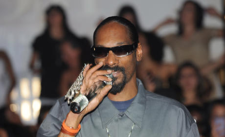 Snoop Dogg Gets Baked, Plays XBox, Shows Up Late For Pussycat Dolls Concert