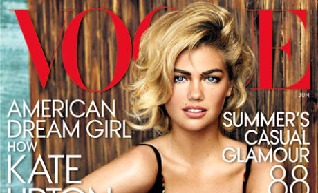 Kate Upton Vogue Cover, Photos: Unveiled!