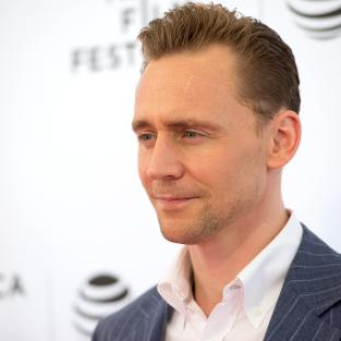 Tom Hiddleston Looks Serious