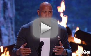 Dwayne Johnson Accepts Hero Award, Pays Tribute to Troops