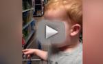 Infant at Toy Store is Having the Best Day of Anyone's Life