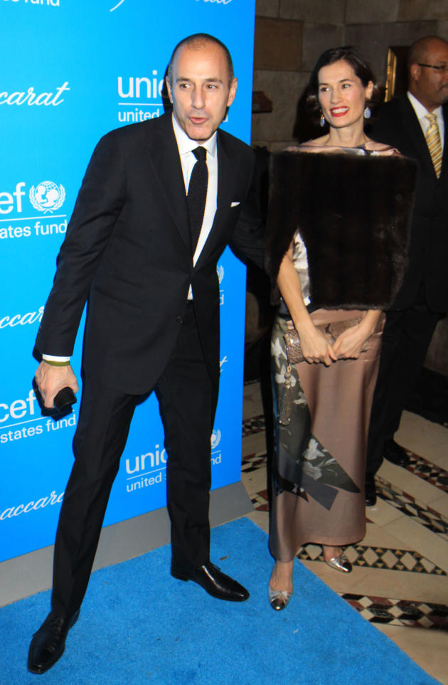 Matt Lauer and Wife