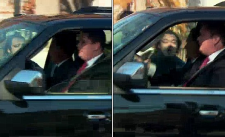 Romney Heckler Arrested For Charging Motorcade