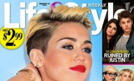 Miley Cyrus Tabloid Pic