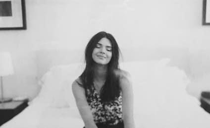 Kendall Jenner Covers Nipple, Little Else on Instagram