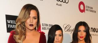 Kourtney and Khloe Kardashian in the Hamptons