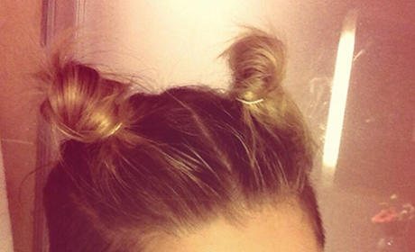 Miley Cyrus Posts Showerrrrr Time Selfiiiie in Preparation for MTV EMAs