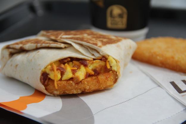 Taco Bell A.M. Crunchwrap