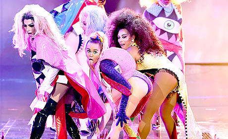 Miley Cyrus as VMA Host: 9 Totally Insane Moments