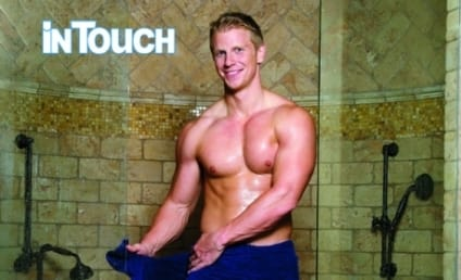 Sean Lowe: Naked Except For Strategically Placed Towel!