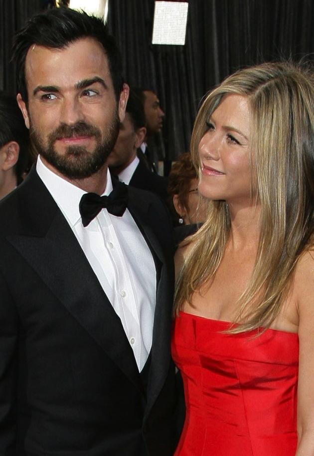 Justin Theroux, Jennifer Aniston Pic