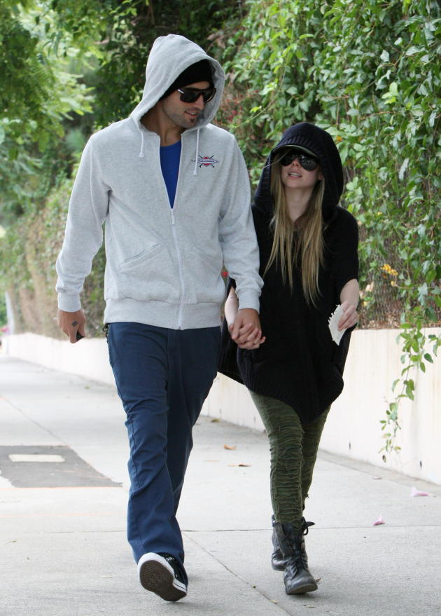 Brody Jenner and Avril Lavigne Pic