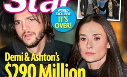 Ashton Kutcher and Demi Moore Take Vacation, Work on Issues