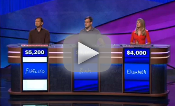 Jeopardy: Elaine Benes Pronunciation Mishap