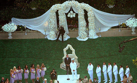Kendra Wilkinson-Hank Baskett Wedding