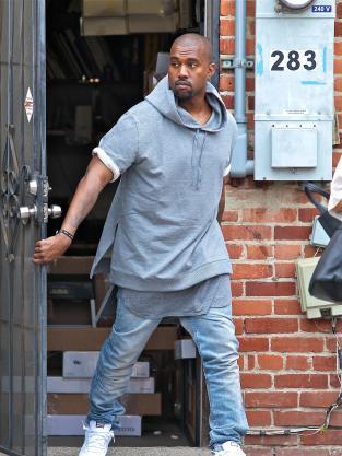 Kanye in Public