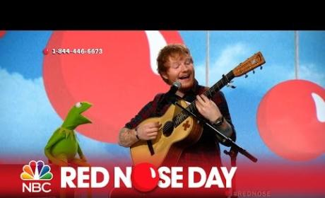 "Ed Sheeran and Kermit The Frog - ""Rainbow Connection"""