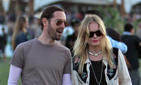 Kate Bosworth and Michael Polish at Coachella