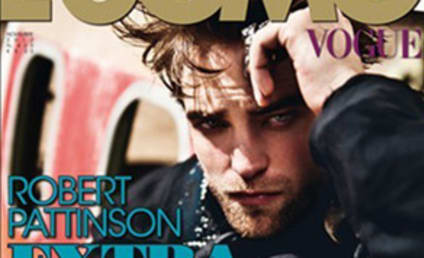 Robert Pattinson: Leather-Clad in Vogue Italia!