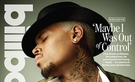 Chris Brown Billboard Cover