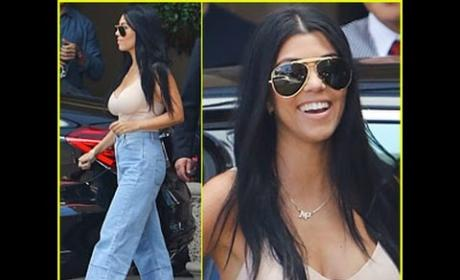Kourtney Kardashian Boob Job Rumors Heat Up: Sticking it to Scott with Plastic Surgery?!