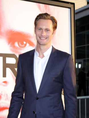 Alexander Skarsgard at True Blood Premiere