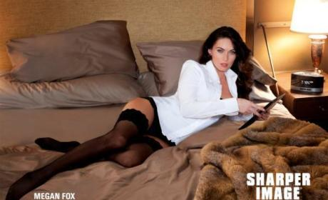 Megan Fox Sharper Image Ad