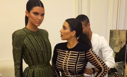 Kendall Jenner Mocks Kim Kardashian on Instagram: I Have The Shortest Big Sister!