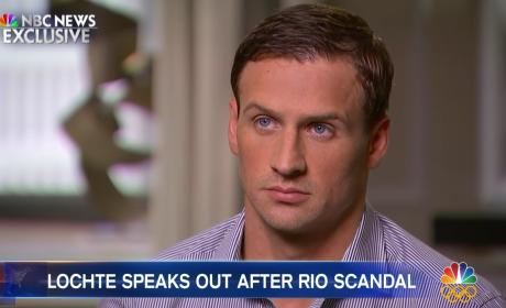 Ryan Lochte Confesses