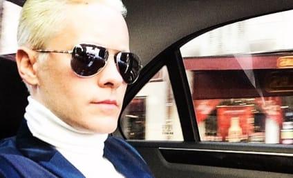 Jared Leto Makes Like Kim Kardashian, Debuts Blonde Locks to Mixed Reviews