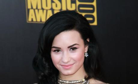 Demi on the Red Carpet