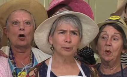 Raging Grannies Call Out CBS on Corporate Bull$hit