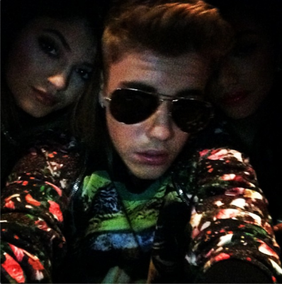 Justin Bieber and Kylie Jenner